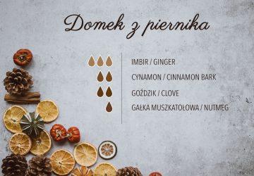 Christmas diffuser blends - przepisy do dyfuzora na Boże Narodzenie - Lawendowe Pola